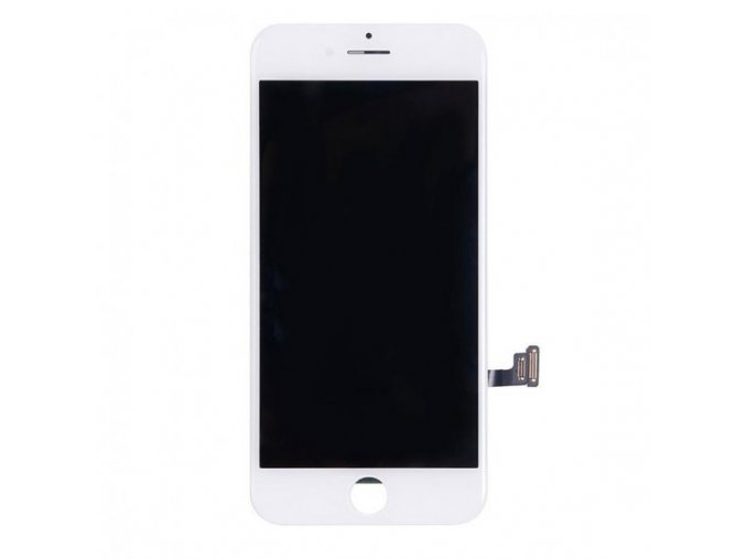 nahradni lcd displej s dotykovym sklem rameckem pro apple iphone 7 top kvalita bily