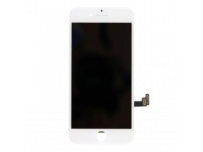 nahradni lcd displej s dotykovym sklem rameckem pro apple iphone 8 top kvalita bily