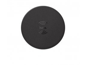 hoco round wireless charger black