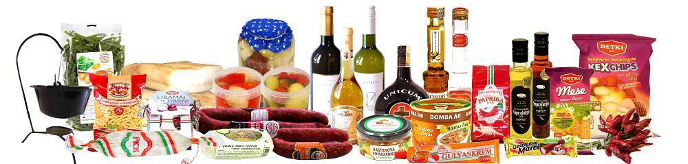 Rozvoz maďarských delikates zdarma až k vám domů
