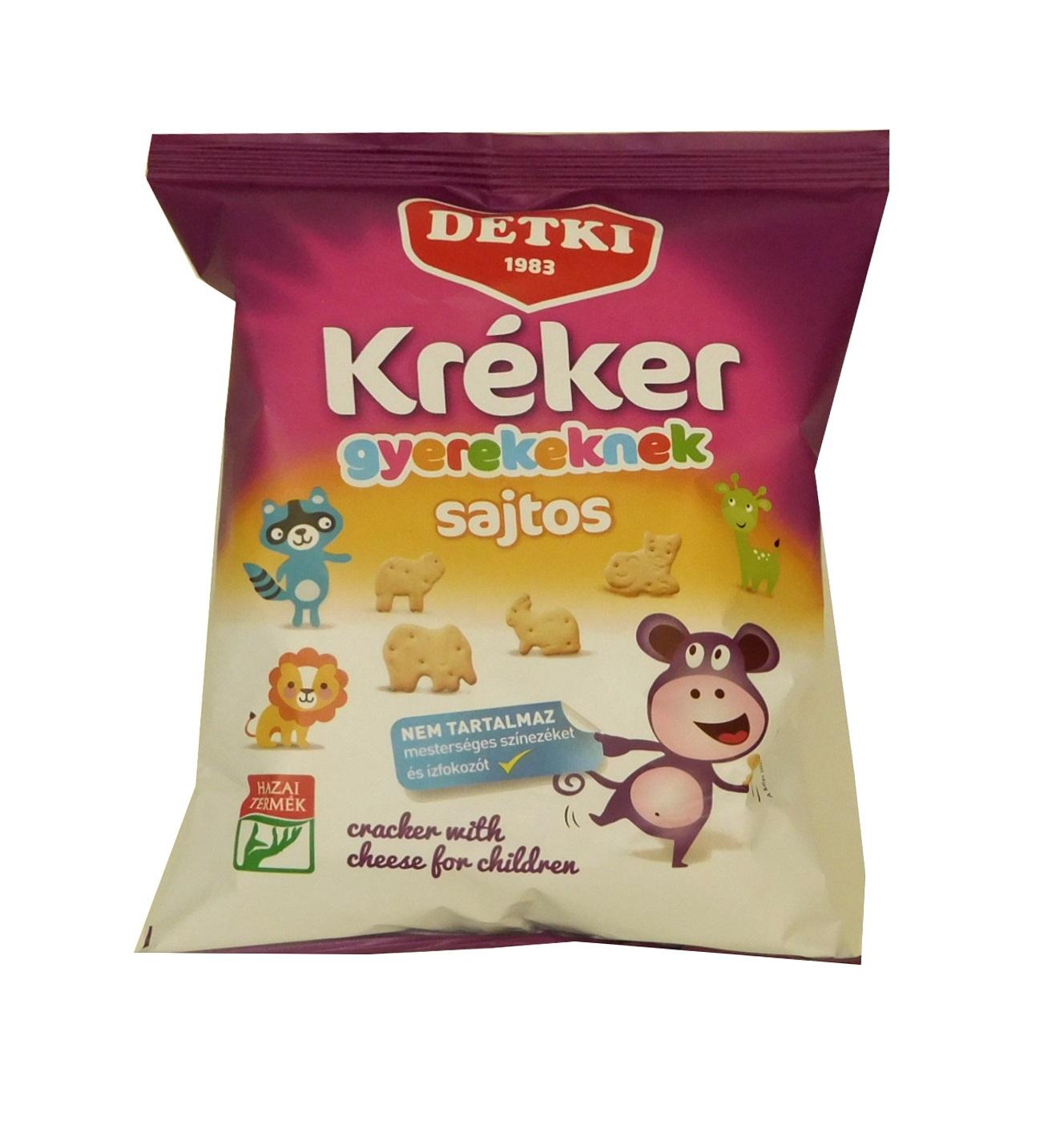 Sýrové krekry pro děti