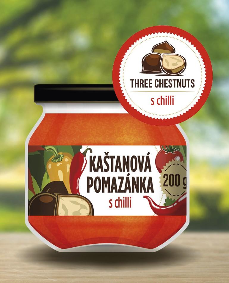 kaštanová pomazánka s chilli