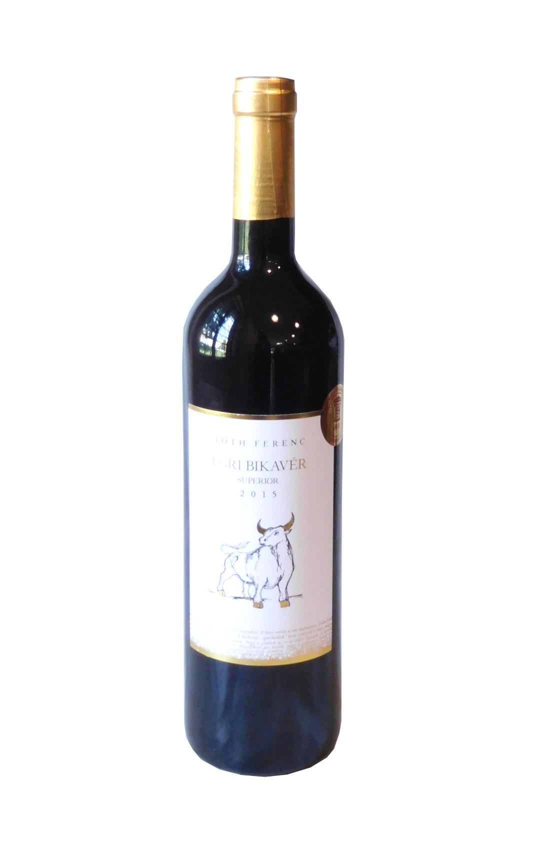 Egri Bikavér superior (červené výběrové víno)
