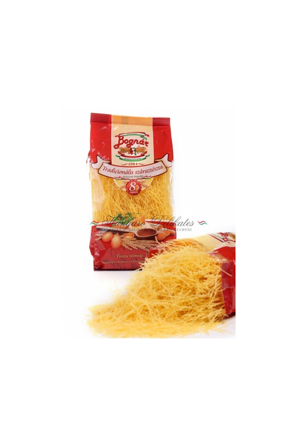 těstoviny polévkové nudle volně sypané