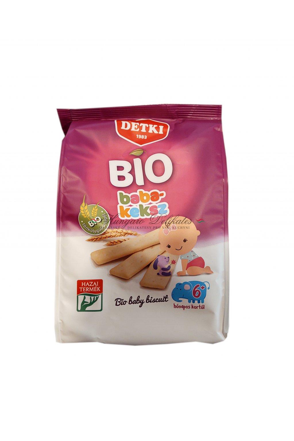 bio baby sušenky pro děti