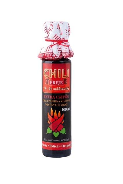 Extra pálivý chilli olej
