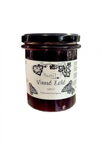 Vinné želé natur 210 g