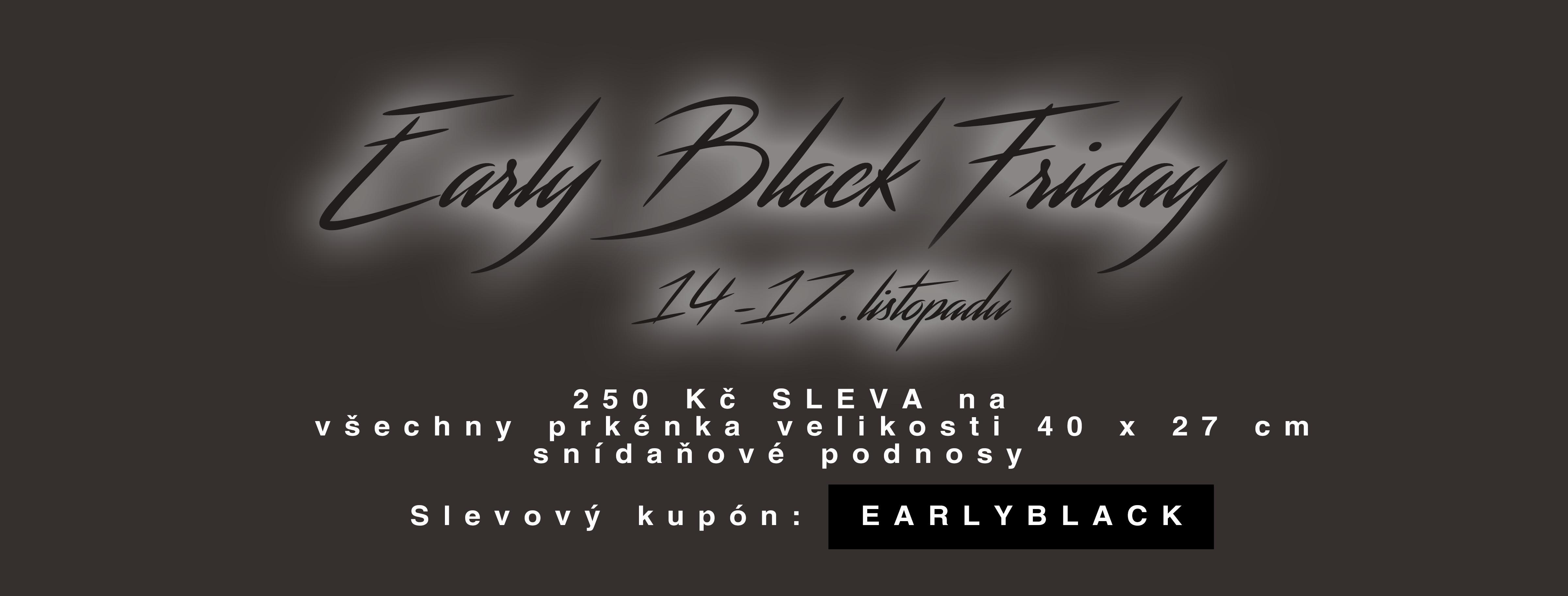Early Black Friday