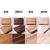4 členové rodiny (Typ Dřeva Třešeň, Barva okraje Oranžová, Dodací doba Standardní (10 pracovních dnů - ZDARMA))
