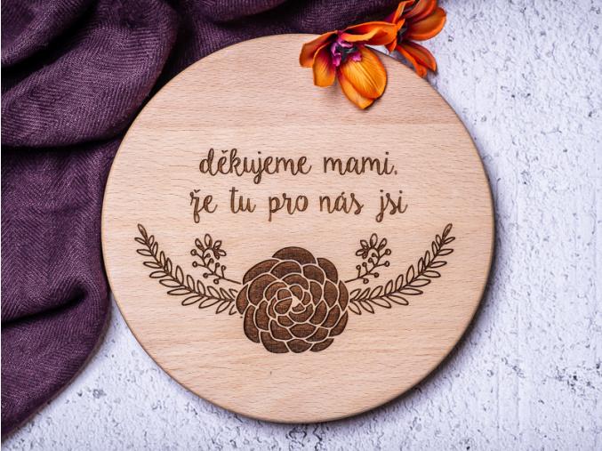 Děkuju mami