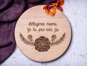 Děkujeme mami