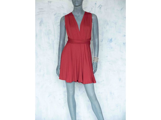 krátké šaty multi