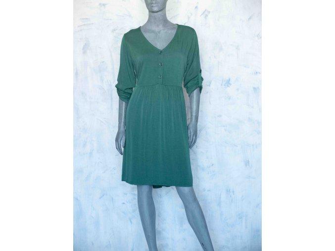 šaty s knoflíky
