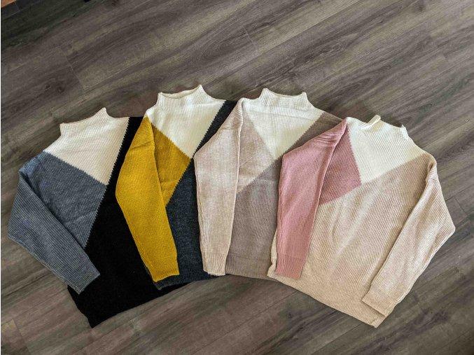 asymetrický svetr