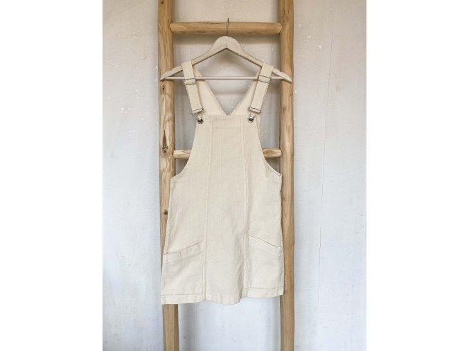 šaty s laclem