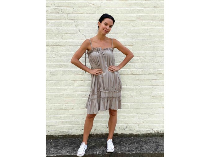 volné šaty Lea