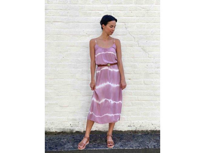 batikované šaty Eli