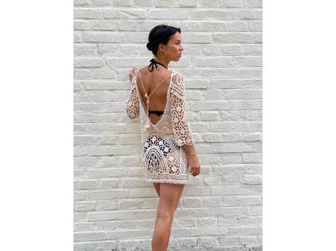 háčkované šaty Milla