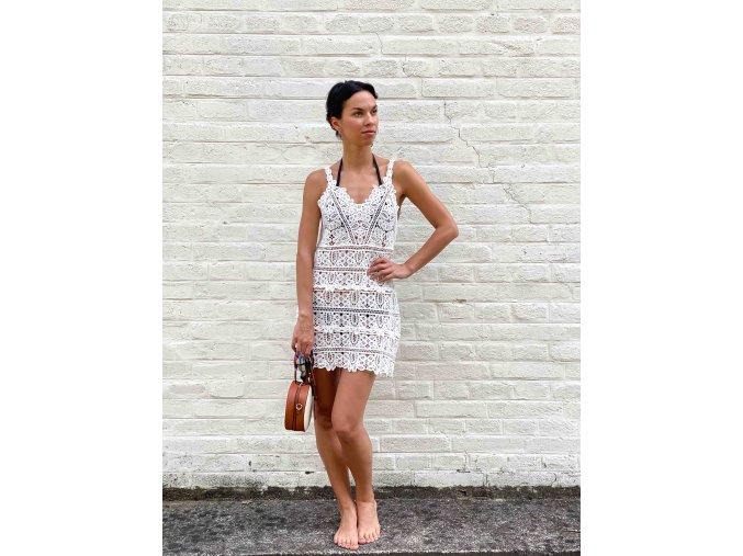 háčkované šaty Sophia