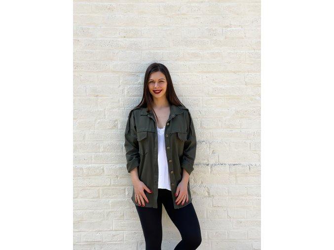 košilová bunda Elisa