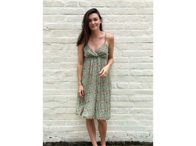 květované šaty Lola