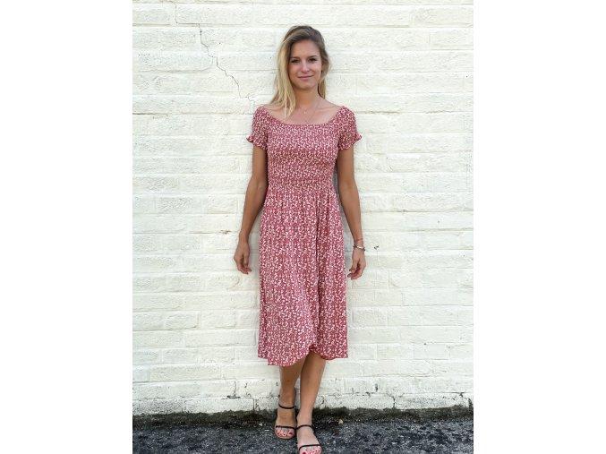květované šaty Eleanor