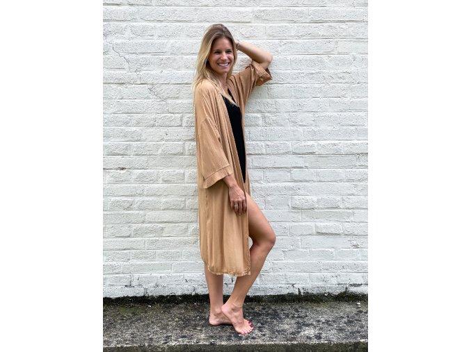 dlouhé kimono Linda