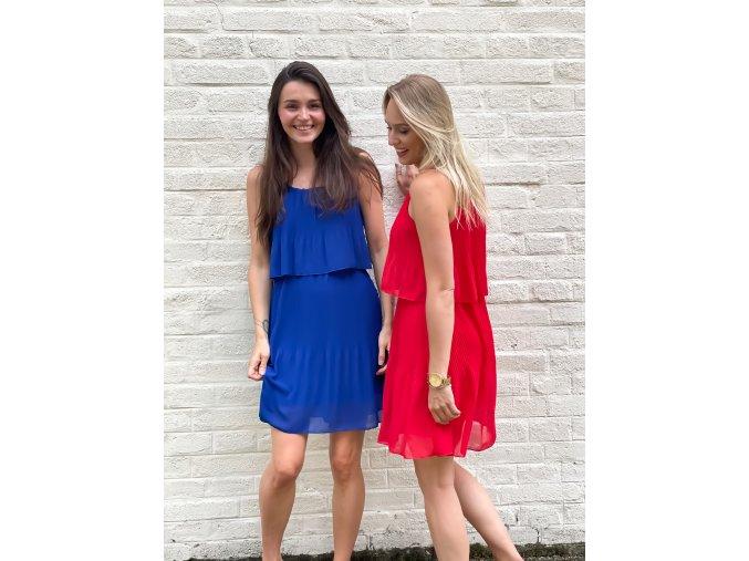 plisované šaty Greta
