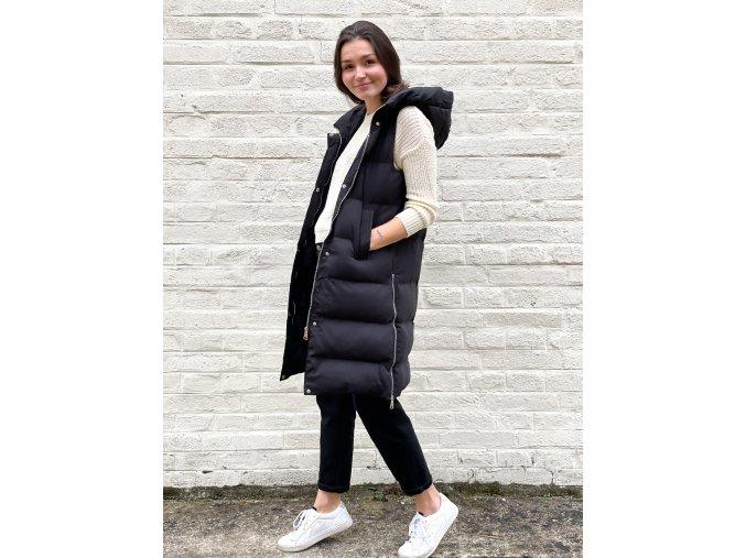 dlouhá zimní vesta Rita