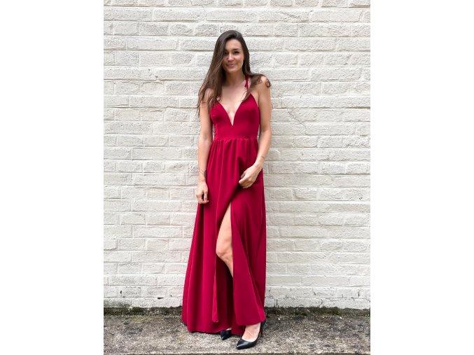 dlouhé šaty Olivia