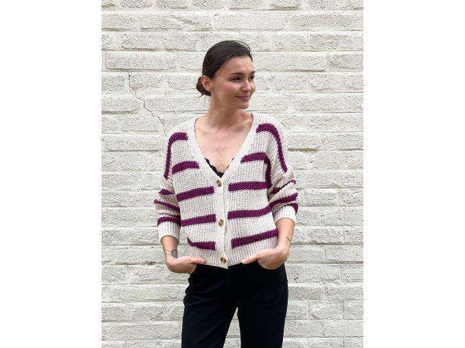 svetr s pruhy Amelia