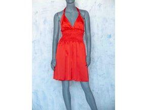saténové šaty Marilyn