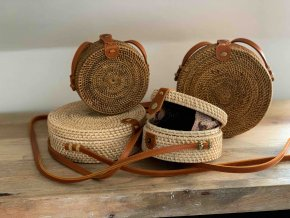 ratanová kabelka