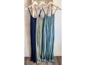 dlouhé basic šaty