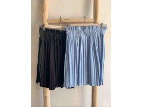 krátká plisovaná sukně