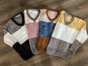 plyšový svetr