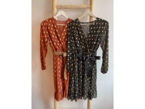 vzorované šaty Lisa