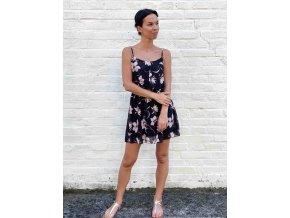 šaty s květy Laura