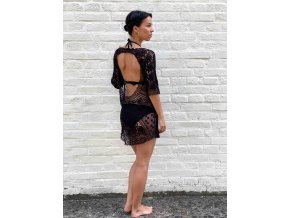 háčkované šaty Noelia