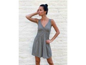krátké šaty Rebecca