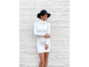 pletené rolákové šaty Belen