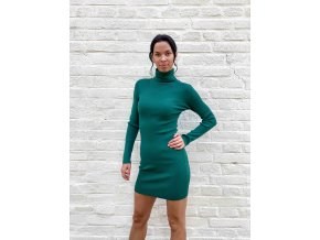pletené rolákové šaty Tamara