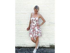 květované šaty Claudia