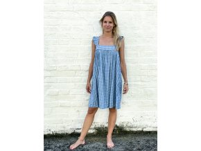 kostkované šaty Yvette