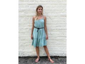 šaty s puntíky Dory
