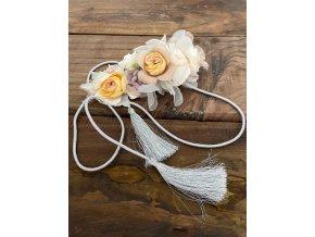 pásek s květy
