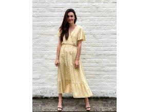 Květované šaty Oli