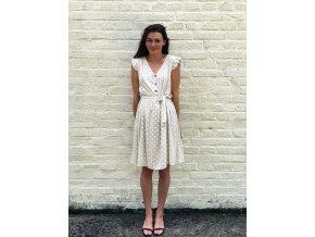 šaty s puntíky Vivien