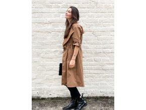 dlouhý kabát Zoe