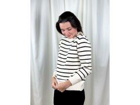 pruhovaný svetr Nina